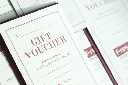 Fresca Restaurant Gift Vouchers – Make Voucher